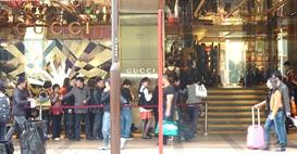 gucci queue hk