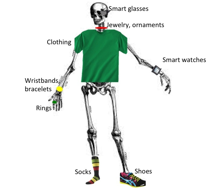 Wearable skeleton 1